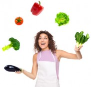 Juggling-healthy-food
